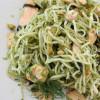 Nouilles chinoises au Saumon et au Pesto de Nori