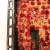 Brioche caramélisée aux prunes rouges & aux amandes