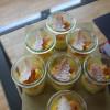 Verrine de Noël – Crème Mangue/Passion & ses petits sapins croustillants