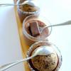 Double sensation chocolatée: Crème choc'&Fleur de Sel ou Mousse choc'&Ca'huètes?