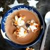 Chocolat Chaud aux Noisettes et ses toasts briochés au Pralin