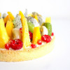 Tarte Blanc Manger Coco & Fruits Exotiques