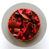 Tarte «Passionnément Chocolat» – Chocolat, Framboises & Groseilles