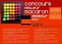 Concours du Meilleur Macaron Amateur à Metz – 02/02/2013