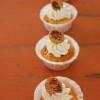 Cupcake au chorizo et aux piquillos & sa crème au piment d'Espelette