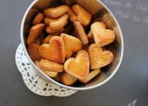 Petits sablés corses à la farine de châtaigne et au miel de châtaignier