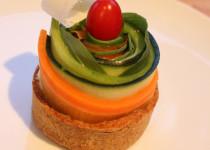 Tarte Ô légumes crus