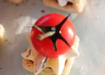 Mini toast Tomato & Basilico