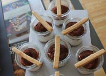 Verrine de Noël – Mousse au Marron & Griottes