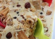 Glace Gourmande Vanille#Chocolat#Noisettes#Sablés