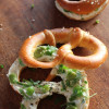 Bretzels fourrées printanières #Fromage Frais & Légumes Verts#