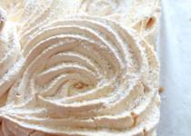 Gâteau meringué *RHUBARBE*