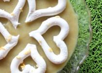 Compote Rhubarbe & Banane (meringuée)