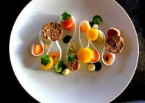 Assiette créative – Poisson & Petits Légumes