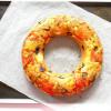 Gâteau renversé s-a-l-é du Soleil: Tomates, Olives, Feta