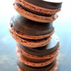 Macarons Noirs Vanille