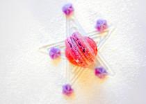 maC'aron aux bonbons des Vosges à la Violette