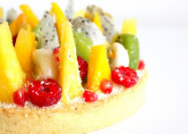 Tarte Blanc Manger Coco & Fruits Exotiques