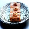 Brownie Corse: Farine de Châtaigne, Fève Tonka et Noix