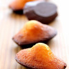 Madeleines à la Fleur d'Oranger enrobées de Chocolat