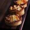 Tartelettes aux Pommes, Noisettes & Café